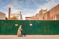 Site of future retail development on West 125th Street in Harlem in New York seen on Sunday, November 3, 2013. (© Richard B. Levine)