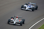 24 May 2009: 12 Will Power and 2 Raphael Matos at Indianapolis 500. Indianapolis Motor Speedway Indianapolis, Indiana.
