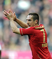 FUSSBALL   1. BUNDESLIGA  SAISON 2011/2012   11. Spieltag FC Bayern Muenchen - FC Nuernberg        29.10.2011 Franck Ribery (FC Bayern Muenchen)