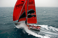 VOLVO OCEAN RACE 2008-09, PUMA OCEAN RACING, LEG 1 START, ALICANTE