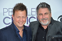 Dean Sams &amp; Michael Britt at the 2017 People's Choice Awards at The Microsoft Theatre, L.A. Live, Los Angeles, USA 18th January  2017<br /> Picture: Paul Smith/Featureflash/SilverHub 0208 004 5359 sales@silverhubmedia.com