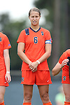 17 October 2013: Syracuse's Rachel Blum. The University of North Carolina Tar Heels hosted the Syracuse University Orangemen at Fetzer Field in Chapel Hill, NC in a 2013 NCAA Division I Women's Soccer match. UNC won the game 1-0.
