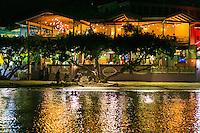 Night at Wharfside Village<br /> Cruz Bay, St. John<br /> US Virgin Islands