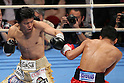 (L to R) Daiki Kameda (JPN), Thepparith Kokietgym (THA), December 7, 2011 - Boxing : Daiki Kameda of Japan and Thepparith Kokietgym of Thai during the WBA Supwer-Flyweight Title bout at Osaka Prefectural Gymnasium in Osaka, Japan. (Photo by Akihiro Sugimoto/AFLO SPORT) [1080]