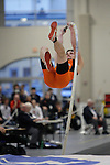 11 MAR 2011: Mike Dempsey of Rochester Instit. of Tech. pole vaults during the the Division III Men's and Women's Indoor Track and Field Championships held at the Capital Center Fieldhouse on the Capital University campus in Columbus, OH.  Jay LaPrete/NCAA Photos