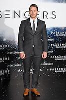 LONDON, UK. December 1, 2016: Chris Pratt at the &quot;Passengers&quot; photocall at Claridges Hotel, London.<br /> Picture: Steve Vas/Featureflash/SilverHub 0208 004 5359/ 07711 972644 Editors@silverhubmedia.com