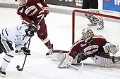 ?, Parker Milner (BC - 35) - The Providence College Friars tied the visiting Boston College Eagles 3-3 on Friday, December 7, 2012, at Schneider Arena in Providence, Rhode Island.