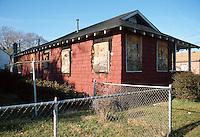 1991 February ..Conservation.Cottage Line...BEFORE REHAB.9423 CHESAPEAKE STREET...NEG#.NRHA#..