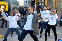 A flashmob breaks into a dance at Santa Monica Place while promoting the new TV show &quot;Lives Of Style&quot; on Black Friday, November 26, 2010. Lives of Style highlights the &quot;Best of The Best&quot; in fashion, beauty and lifestyle. It features first looks at runway collections from New York, Paris and Milan and breaking news in... beauty, skincare and cosmeceuticals. Lives of Style is hosted by Elisabeth Laurence, a leading Bay