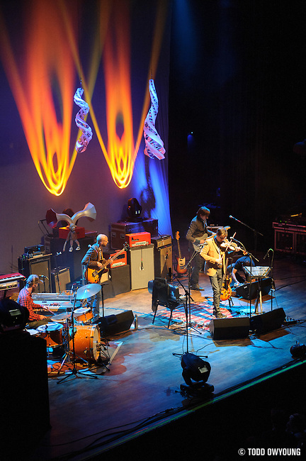Andrew Bird performing at the Pageant in St. Louis, Missouri on March 22, 2012.