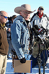 LaVoy Finicum, spokesman for the armed activists speaks during a press conference at the Malheur National Wildlife Reserve on January 15, 2016 in Burns, Oregon.  Ammon Bundy and about 20 other protesters took over the refuge on Jan. 2 after a rally to support the imprisoned local ranchers Dwight Hammond Jr., and his son, Steven Hammond.   ©2016. Jim Bryant Photo. All Rights Reserved.