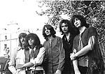 Deep Purple 1969 Jon Lord, Ian Paice, Ian Gillan, Ritchie Blackmore and Roger Glover..© Chris Walter.