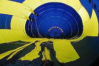 Infalting the Balloon.Pic Conor McKeown
