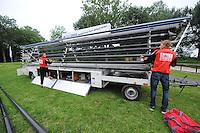 FIERLJEPPEN: GRIJPSKERK: 08-07-2015, Polsenwagen, ©foto Martin de Jong
