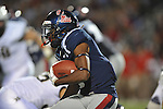 Ole Miss running back Jeff Scott (3) vs. Vanderbilt at Vaught-Hemingway Stadium in Oxford, Miss. on Saturday, November 10, 2012.