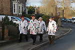 Ripon Sword Dance Play. Ripon, Yorkshire, UK. Performed on Boxing Day December 26th 2008.