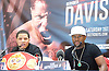 Floyd Mayweather Jr &amp; Frank Warren press conference at The Savoy Hotel, London, Great Britain <br /> 7th March 2017 <br /> <br /> <br /> <br /> <br /> Gervonta Davis <br /> (an American professional boxer who has held the IBF junior lightweight title since January 2017)<br /> <br /> Floyd Joy Mayweather Jr. is an American former professional boxer who competed from 1996 to 2015 and currently works as a boxing promoter. <br /> 