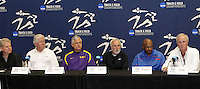 2011 NCAA Indoor Track & Field Championship Press Conf. Texas A&M, College Station, Texas