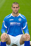 St Johnstone FC...Season 2011-12.Marcus Haber.Picture by Graeme Hart..Copyright Perthshire Picture Agency.Tel: 01738 623350  Mobile: 07990 594431