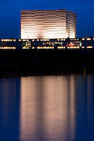 By waterfront The Royal Playhouse building by Lundgaard and Tranberg architects in Copenhagen, Denmark