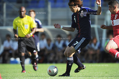 Yuki Otsu (JPN), Salih Dursun (TUR),.MAY 23, 2012 - Football / Soccer :.2012 Toulon Tournament Group A match between U-21 Turkey 2-0 U-23 Japan at Stade Perruc in Hyeres, France. (Photo by FAR EAST PRESS/AFLO)
