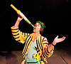 Circus of Comedy <br /> at The Arcola Tent, Dalston, Great Britain <br /> 22nd October 2011 <br /> <br /> Circus Performer<br /> <br /> <br /> Photograph by Elliott Franks