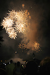 Independence Day Fireworks display at  Waryas Park in Poughkeepsie, NY on Monday, July 4, 2011. Photo by Jim Peppler. Copyright © Jim Peppler 2011.