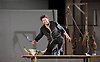 The Marriage of Figaro <br /> by Mozart<br /> English National Opera <br /> at the Coliseum, London, Great Britain <br /> 14th October 2014 <br /> <br /> Directed by Fiona Shaw<br /> <br /> conducted by Jaime Martin<br /> <br /> Benedict Nelson as Count Almaviva<br /> <br /> Sarah-Jane Brandon as Countess Almaviva<br /> <br /> Mary Bevan as Susanna <br /> <br /> David Stout as Figaro <br /> <br /> Samantha Price as Cherbino <br /> <br /> Lucy Schaufer as Marcellina<br /> <br /> Jonathan Best as Dr Bartolo <br /> <br /> Colin Judson as Don Basillio <br /> <br /> Alun Rhys-Jenkins as Don Curzio <br /> <br /> Martin Lamb as Antonio <br /> <br /> Ellie Laugharne as Barbarina <br /> <br /> <br /> <br /> Photograph by Elliott Franks <br /> Image licensed to Elliott Franks Photography Services