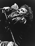 Black Sabbath 1982 Ronnie James Dio.© Chris Walter.