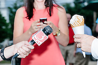 Rand Paul - Warren, NH - Moose Scoops Ice Cream campaign stop - 25 July 2015
