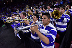 GREENVILLE, SC - MARCH 19: The Duke University pep band performs during the 2017 NCAA Men's Basketball Tournament held at Bon Secours Wellness Arena on March 19, 2017 in Greenville, South Carolina. (Photo by Grant Halverson/NCAA Photos via Getty Images)