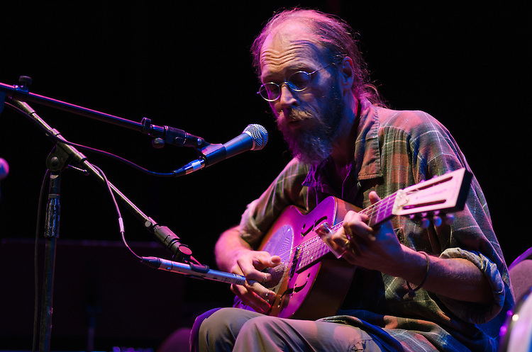 Charlie Parr played Fletcher Opera Theater during Hopscotch Music Festival in Raleigh, North Carolina on September 6, 2012.