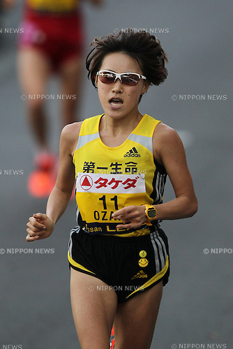 Yoshimi Ozaki (JPN), NOVEMBER 20, 2011 - Marathon : The 3rd Yokohama Women's Marathon in Kangawa, Japan. (Photo by AJPS/AFLO SPORT) [0006]