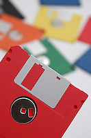 Still life. Floppy disk colorati. Colored floppy disk.....