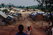 Colomba, Guinea<br /> April 2001<br /> <br /> The Colomba Refugee camp near the Sierra Leone border. It houses approximately 30,000 war refugees.