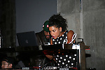 Hannah Bronfman Djing at   alice+olivia by Stacey Bendet & David Choe Present a Night of Fashion and Art at 450 West 14th Street, NY