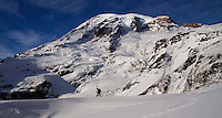 Mt Rainier National Park. Four-season playground, especially for backcountry skiers in the early season