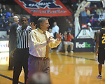 "Southern Mississippi coach Larry Eustachy against Ole Miss at C.M. ""Tad"" Smith Coliseum in Oxford, Miss. on Saturday, December 4, 2010. Ole Miss won 86-81."