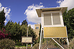 Israel, Shephelah, the meteorological station at the Salesian Monastery in Beit Gemal, the first in the country since 1919