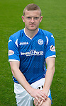 St Johnstone FC Photocall, 2015-16 Season....03.08.15<br /> Brian Easton<br /> Picture by Graeme Hart.<br /> Copyright Perthshire Picture Agency<br /> Tel: 01738 623350  Mobile: 07990 594431
