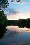 Sunset at Harold Parker State Forest, Andover, MA