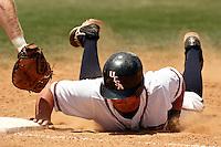 SAN ANTONIO, TX - MAY 11, 2008: The Nicholls State University Colonels vs. The University of Texas at San Antonio Roadrunners Baseball at Roadrunner Field. (Photo by Jeff Huehn)
