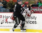 Alex Grieve (Bentley - 23), Patrick McNally (Harvard - 8) - The Harvard University Crimson defeated the visiting Bentley University Falcons 5-0 on Saturday, October 27, 2012, at Bright Hockey Center in Boston, Massachusetts.