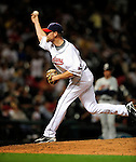 4 September 2009: Cleveland Indians' relief pitcher Kerry Wood on the mound against the Minnesota Twins at Progressive Field in Cleveland, Ohio. The Indians defeated the Twins 5-2 to take the first game of their three-game weekend series. Mandatory Credit: Ed Wolfstein Photo