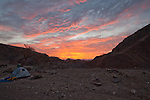 Day 9 -  Sunrise over the Campsite (Photo by Brian Garfinkel)