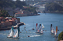 Act 4, Porto, Extreme Sailing Series. Day 03. Images showing the fleet in the river. Porto, Portugal. ..Credit: Lloyd Images