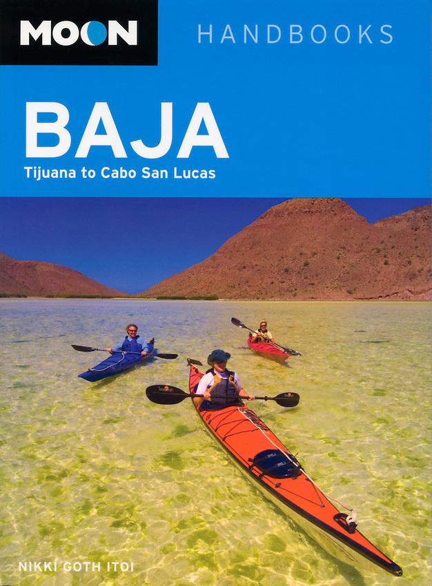 Moon travel guide cover-Sea of Cortez, Baja, Mexico