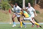 The University of North Carolina Tar Heels played the UNC Wilmington Lady Clamdiggers in a USA Rugby Women's College Rubgy Division I match. September 30, 2012 on Hooker Field on the campus of the University of North Carolina in Chapel Hill, North Carolina. UNC won 14-5.