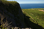 Photo shows a suicide cliffs in southern Saipan on 22 February 2011. Sensing defeat, Japanese citizens living on Saipan were ordered by imperial decree to take their own lives by leaping from the cliffs..Photographer: Robert Gilhooly