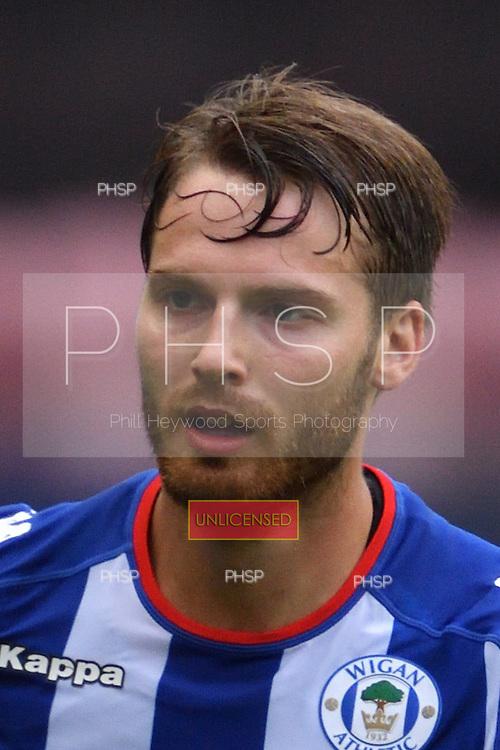 27/08/2016 Sky Bet Championship Wigan Athletic v QPR<br /> <br /> Nick Powell, Wigan Athletic<br /> <br /> <br /> &copy; Phill Heywood tel 07806 775649